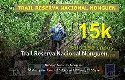 Trail Reserva Nacional Nonguén