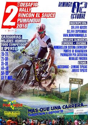 Rally Rincon del Sauce - Pumanque