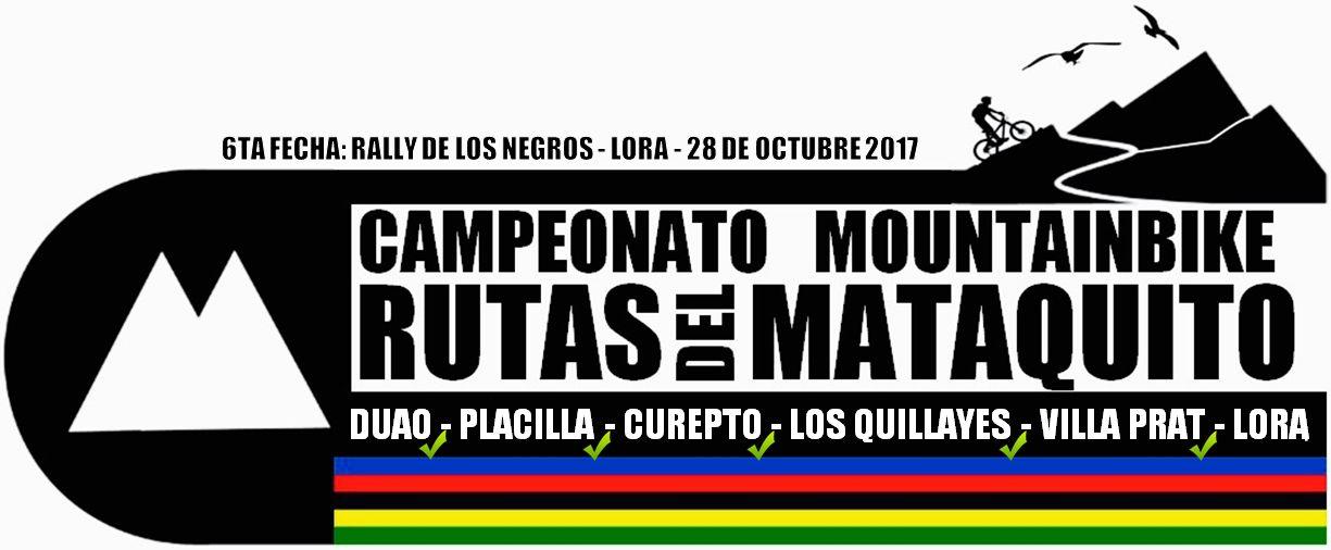 Ranking Final Campeonato Rutas Del Mataquito 2017