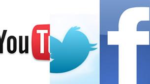 Conozca nuestras redes sociales, Twitter, Facebook y Pronto Youtube.