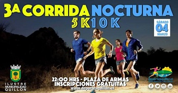 CORRIDA NOCTURNA QUILLÓN 2017