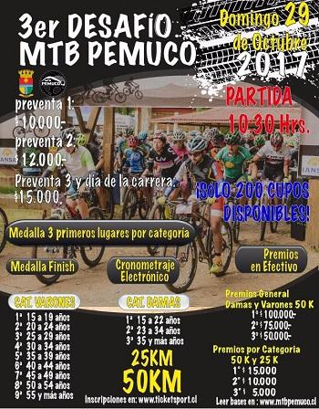 3er Desafio MTB Pemuco