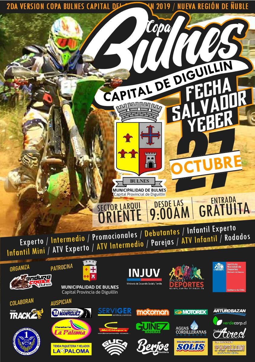 COPA BULNES CAPITAL DE DIGUILLIN ENDURO CROSS 2019