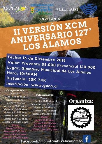 II Versión XCM Aniversario 127° Los Álamos