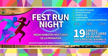 Fest Run Night - Medio Maratón nocturno Chiguayante