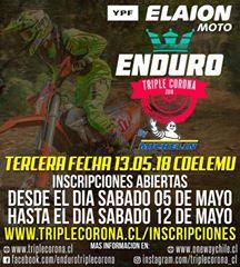 3ª FECHA DEL CAMPEONATO DE ENDURO TRIPLE CORONA 2018