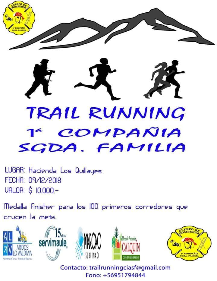 Trail Running Los Quillayes - Sagrada Familia