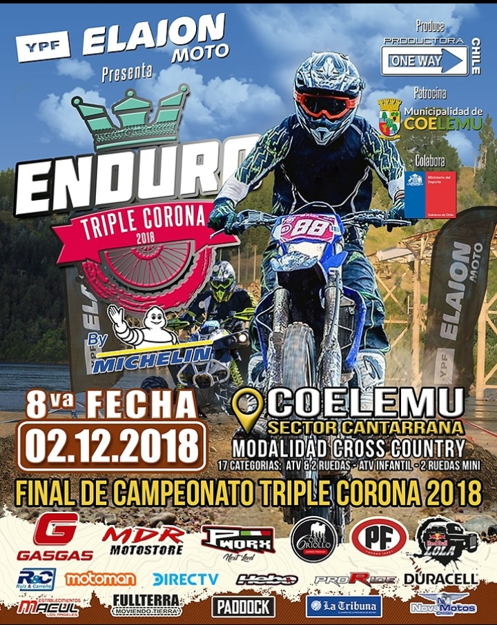 Final Campeonato Enduro Triple Corona 2018