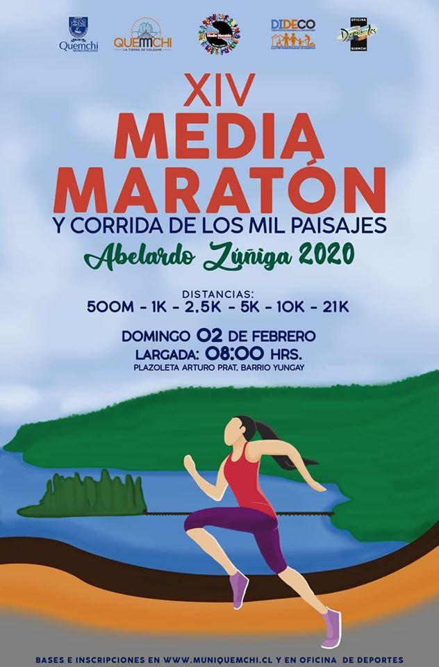 Media Maraton de los mil Paisajes