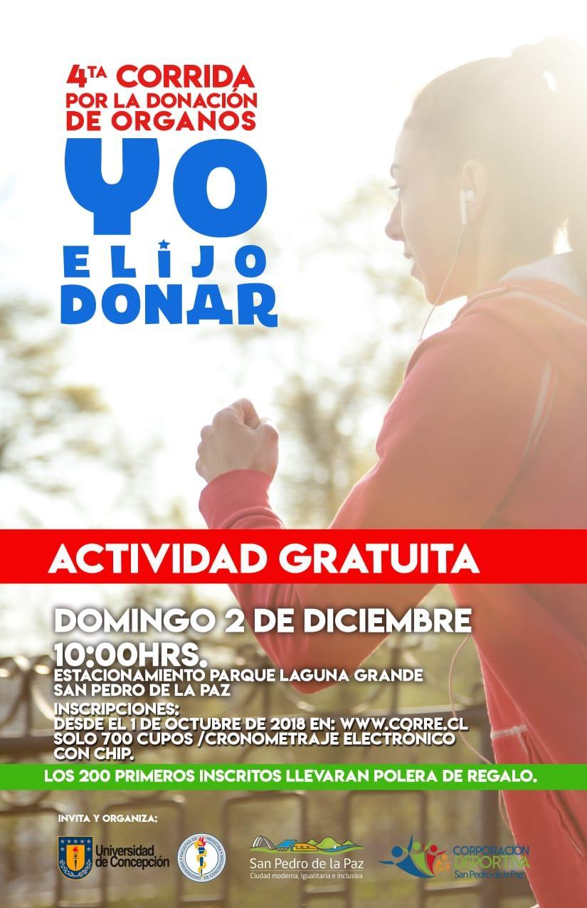 Cuarta Corrida por la Donación de Organos