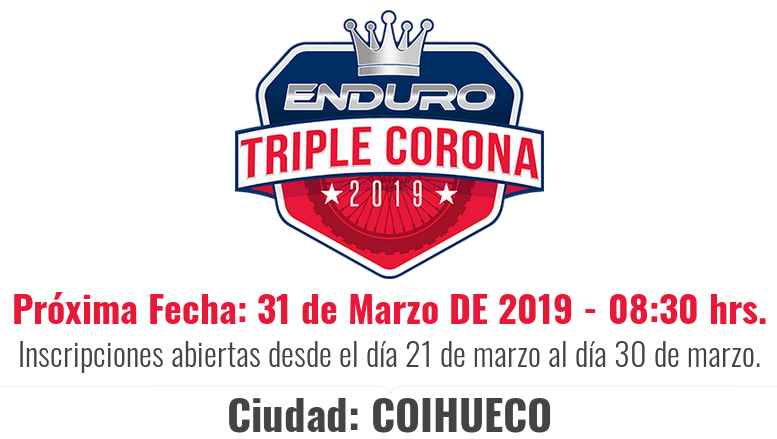 Primera fecha Campeonato Triple Corona 2019