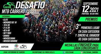 Desafio MTB Cabrero 2021