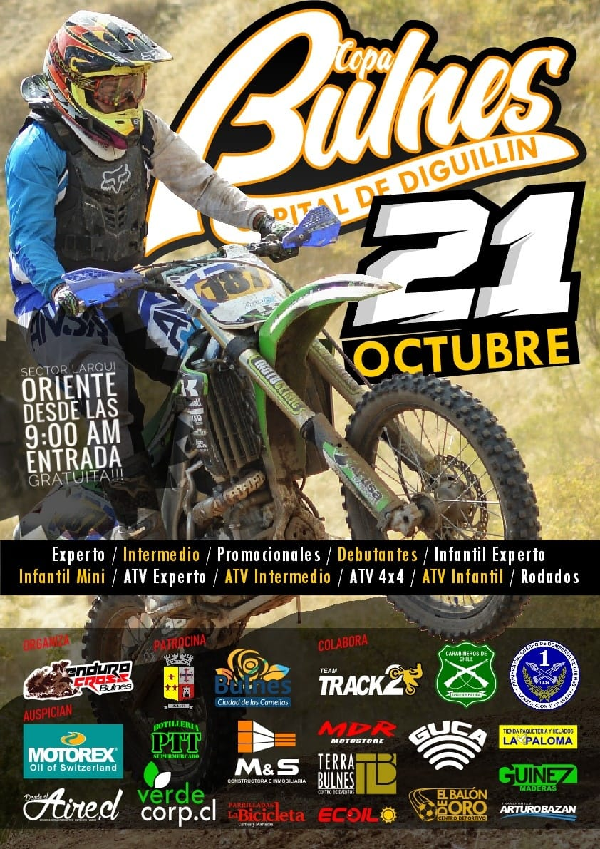 COPA BULNES CAPITAL DE DIGUILLIN ENDURO CROSS 2018