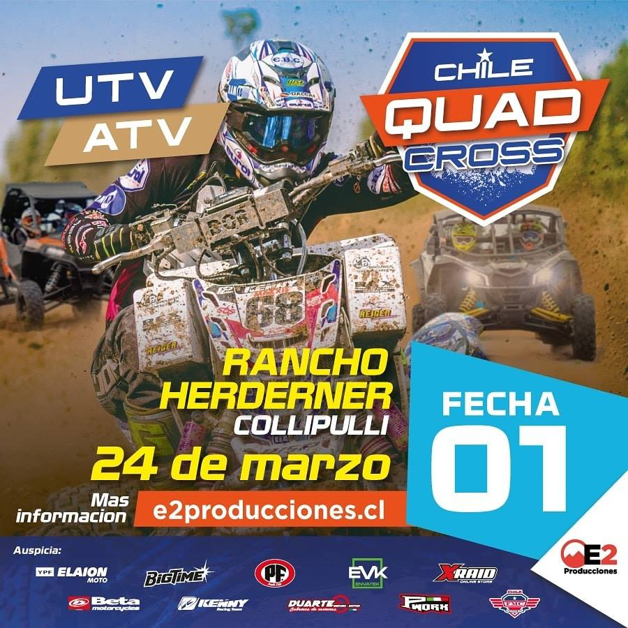 Chile Quad Cross Fecha 1 - Collipulli