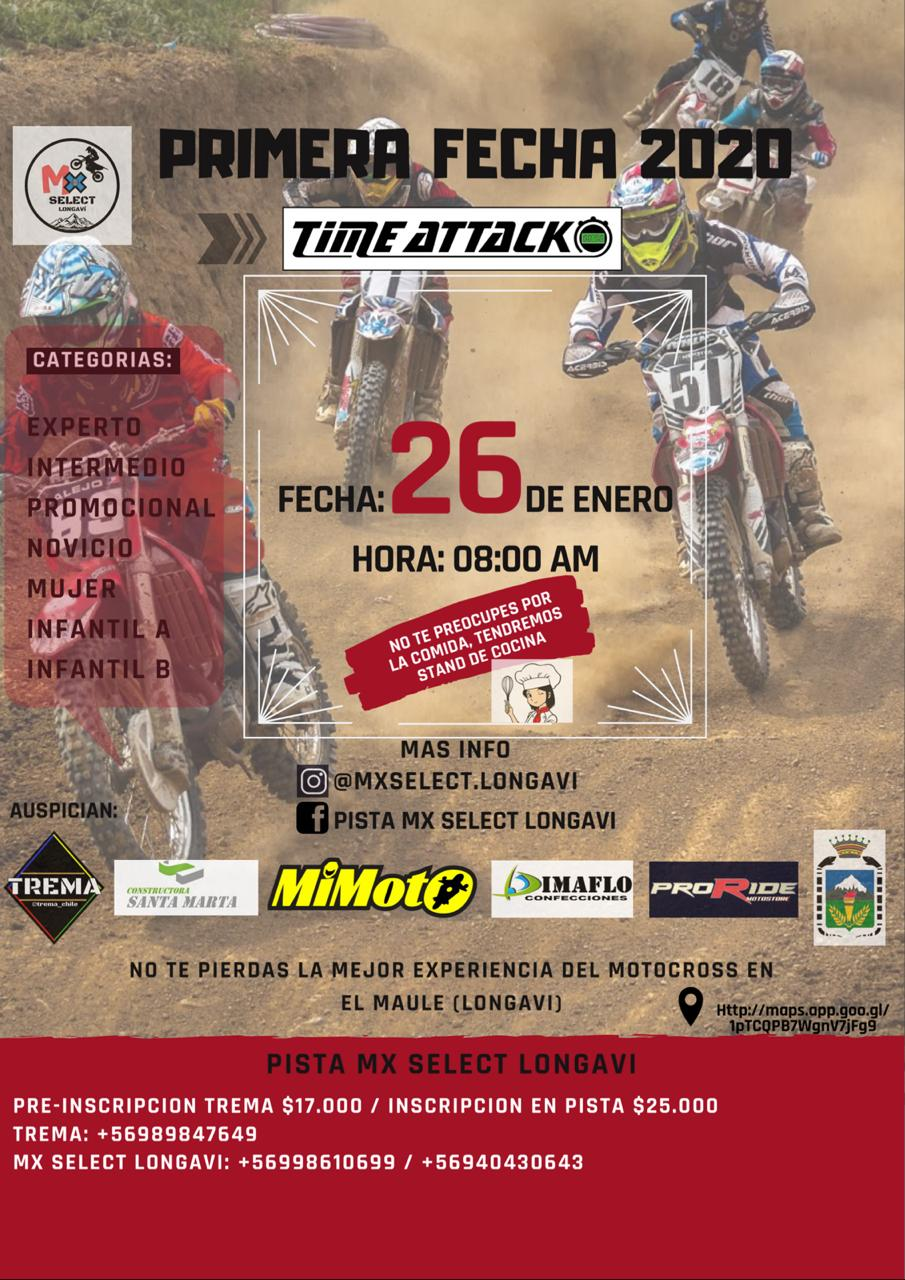 MX Time Attack - Longaví