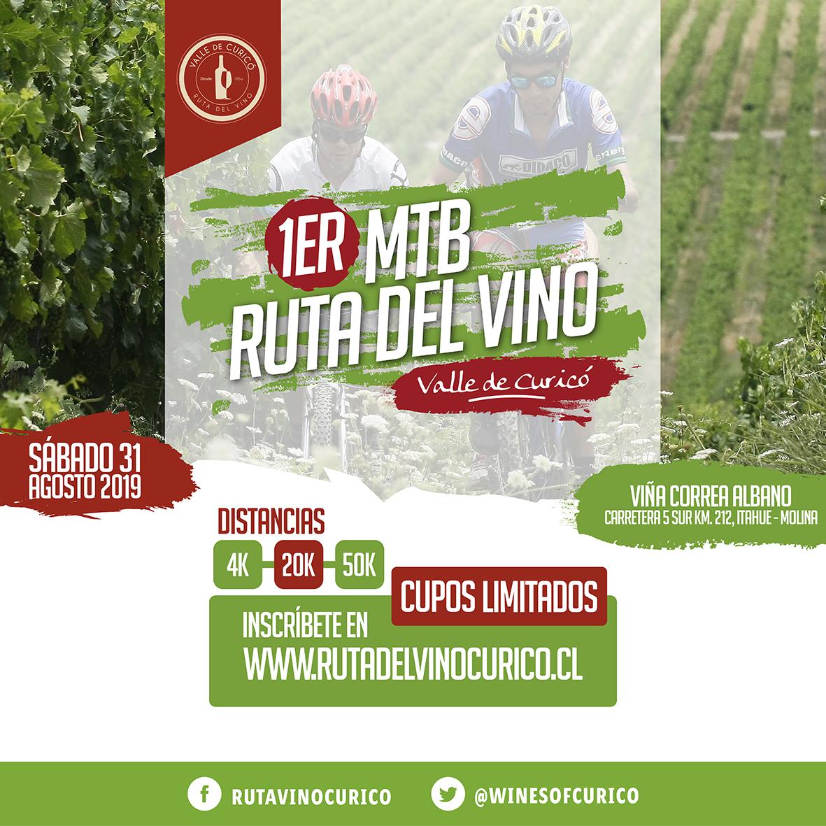 1er MTB Ruta del Vino Curico