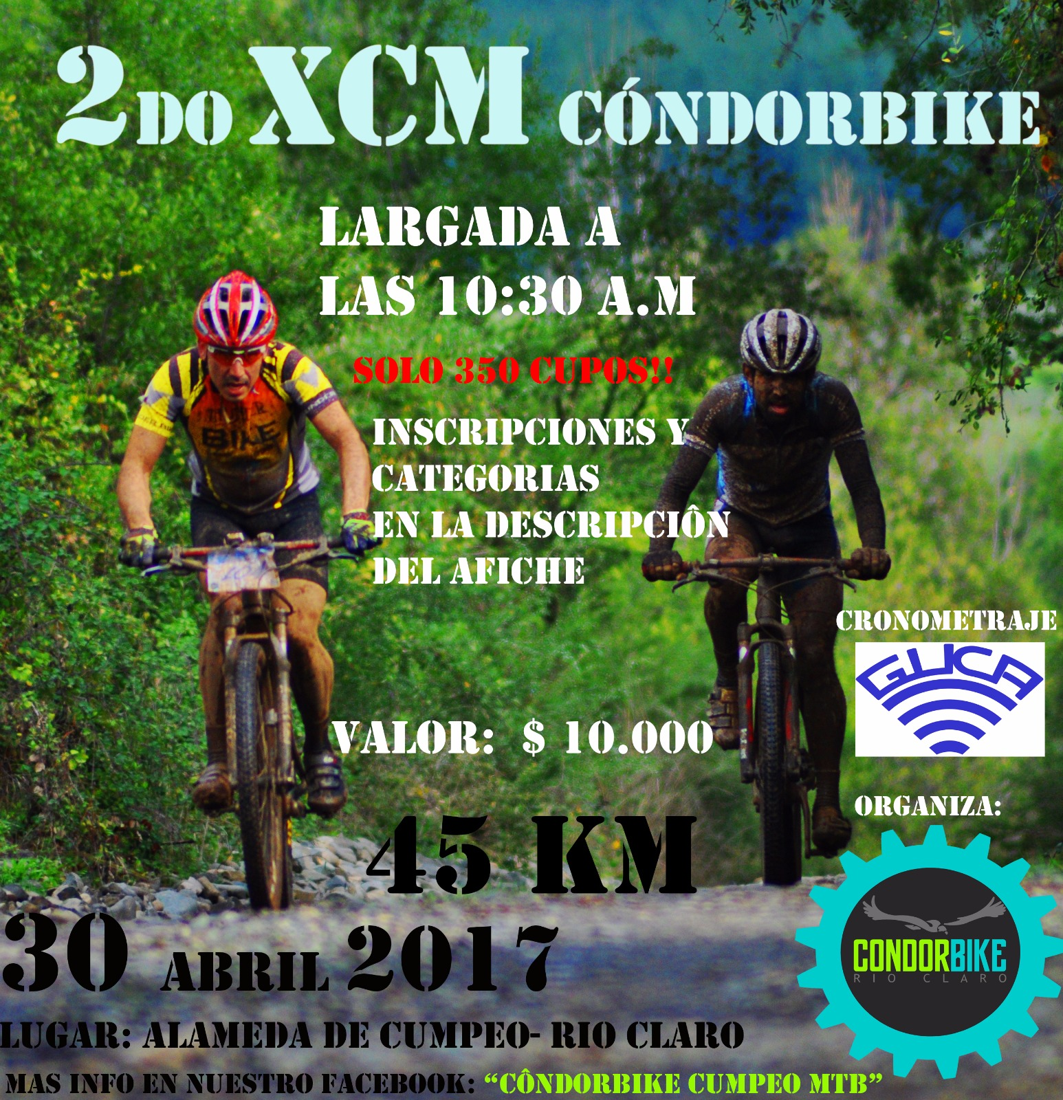 2do XCM Condorbike - Cumpeo