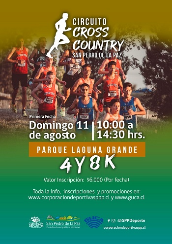 Circuito Cross Country San Pedro de la Paz 2019