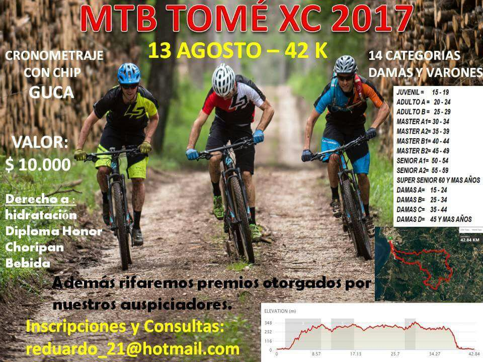 CARRERA MTB XC TOME