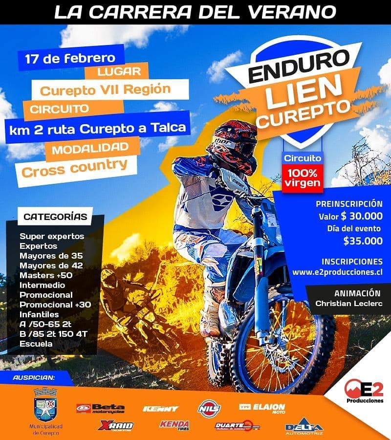 Enduro Lien - Curepto