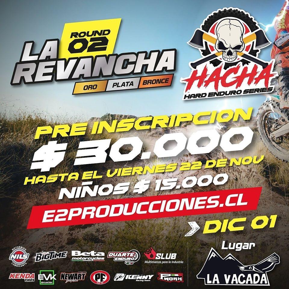 Hacha Hard Enduro Round 2- La Vacada