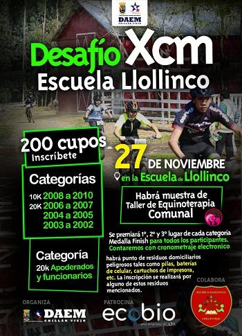 Desafío XCM Escuela Llollinco