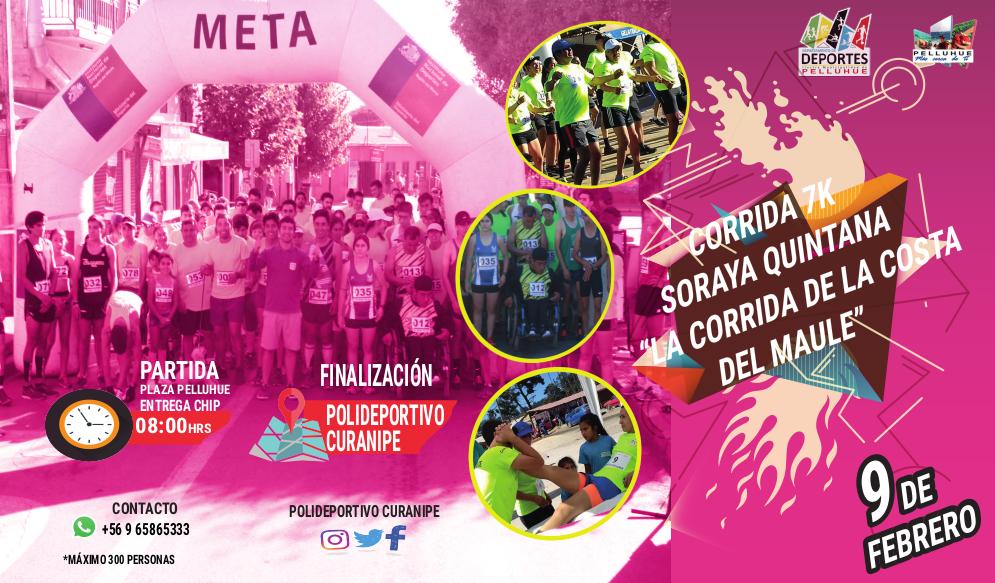 Corrida 7K Soraya Quintana - Pelluhue Curanipe