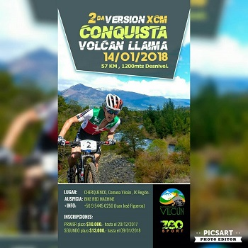 2° XCM Conquista Volcan Llaima