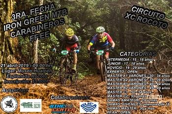 3ra Fecha Iron Green MTB Carabineros FF.EE