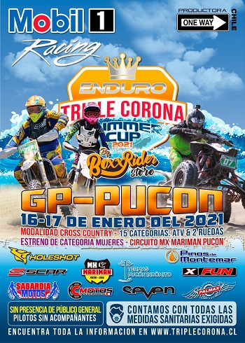 ENDURO TRIPLE CORONA SUMMER - GP PUCON