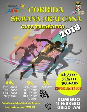 1° Corrida Semana Araucana 2018
