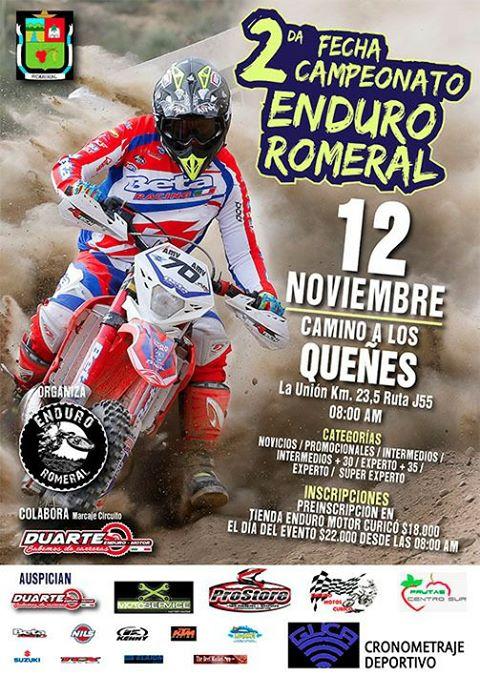Segunda Fecha Campeonato de Enduro - Romeral