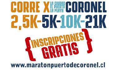 Media Maraton Puerto Coronel - Coronel