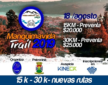 TRAIL MANQUIMAVIDA 2019