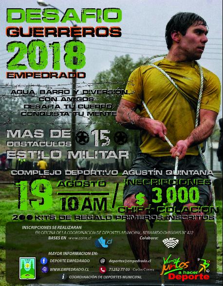 Desafio Guerreros 2018 - Empedrado