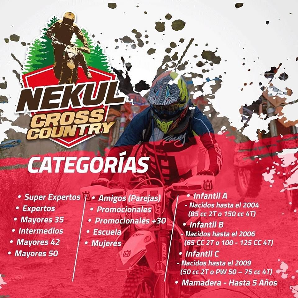 1° Fecha Campeonato Enduro Nekul