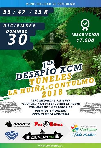1er Desafío XCM Tuneles La huiña-Contulmo 2018